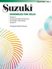 Ensembles for Cello, Volume 3: Volume 3