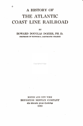 A History of the Atlantic Coast Line Railroad