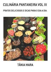 CulinÁria Pantaneira Vol Iii