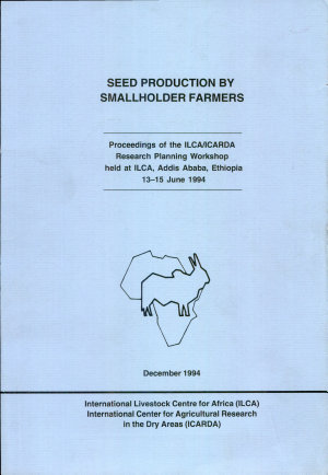 Seed Production by Smallholder Farmers