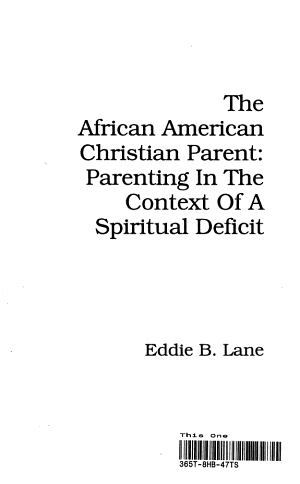 The African American Christian Parent
