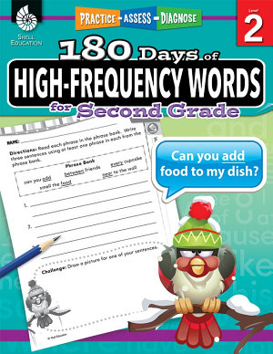 180 Days of High Frequency Words for Second Grade PDF