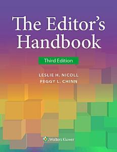 The Editor s Handbook Book