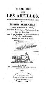 Abeilles: extrait du sixième et dernier cours théorique, pratique et gratuit sur l'éducation et la conservation des abeilles, fait en 1823 ...