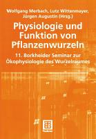 Physiologie und Funktion von Pflanzenwurzeln PDF