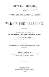 Official Records of the Union and Confederate Navies in the War of the Rebellion: Volume 21