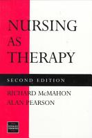 Nursing as Therapy PDF