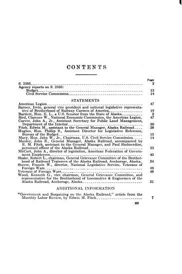 Personnel Policies of the Alaska Railroad  Hearing     87 2     June 21  1962 PDF