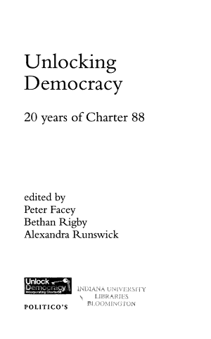 Unlocking Democracy