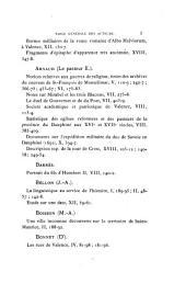 Bulletin d'archéologie et de statistique de la Drôme: Volumes21à22