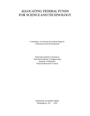 Allocating Federal Funds for Science and Technology PDF