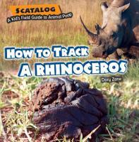 How to Track a Rhinoceros PDF