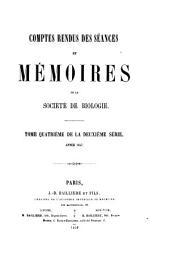 COMPTES RENDUS DES SEANCES ET MEMOIRES DE LA SOCIETE DE BIOLOGIE