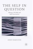 The Self in Question PDF