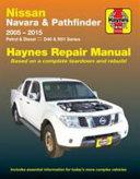 Nissan Navara   Pathfinder Automotive Repair Manual PDF