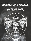 Witches and Spells Coloring Book PDF