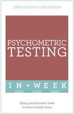 Psychometric Testing In A Week