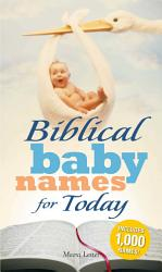 Biblical Baby Names for Today PDF