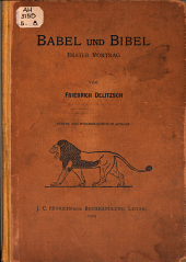 Babel und Bibel: erster Vortrag
