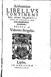 Arithmeticus libellus