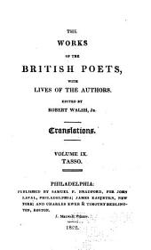 The Works of the British Poets, with Lives of the Authors: Volume 48