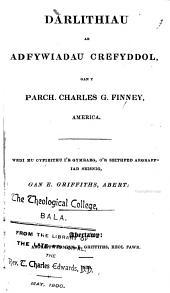 Darlithiau ar adfywiadau crefyddol, wedi eu cyfieithu gan E. Griffiths