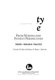 Quality of Life from Nursing and Patient Perspectives PDF
