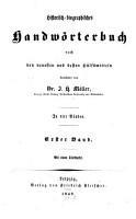 Historisch biographisches Handw  rterbuch PDF