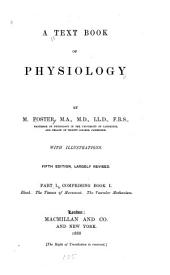 A Textbook of Physiology: Part 1