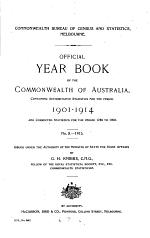 Official Year Book of the Commonwealth of Australia, No. 8 - 1915