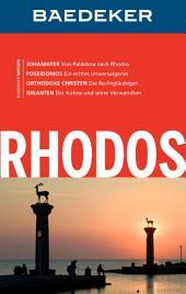Baedeker Reiseführer Rhodos: Ausgabe 9