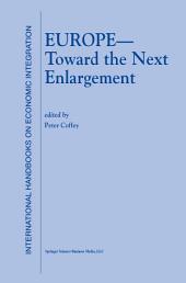Europe — Toward the Next Enlargement