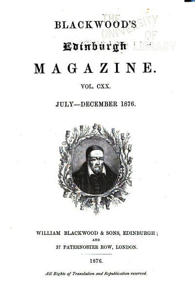 Download Blackwood s Magazine Book