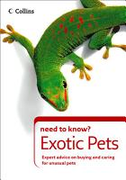 Exotic Pets  Collins Need to Know   PDF