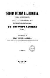 Teodora Ducaina Paleologhina piombo unico inedito della collezione S.E.R. monsignor Lodovico de' principi Altieri di Roma illustrazione di Francesco Carrara