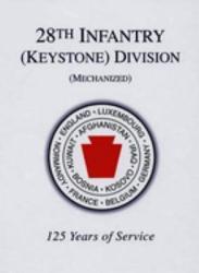 28th Infantry Keystone Division Mechanized  Book PDF