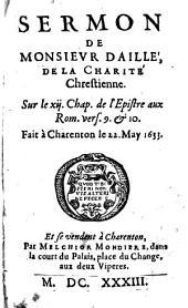 Sermon de la charité chrét., sur Rom. 12, 9-10