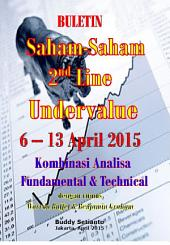 SAHAM-SAHAM 2ND LINE UNDERVALUE 6 – 13 APRIL 2015: KOMBINASI FUNDAMENTAL & TECHNICAL ANALYSIS