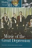 Music of the Great Depression PDF