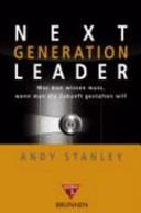 Next generation leader PDF