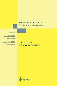 Calculus of Variations I PDF
