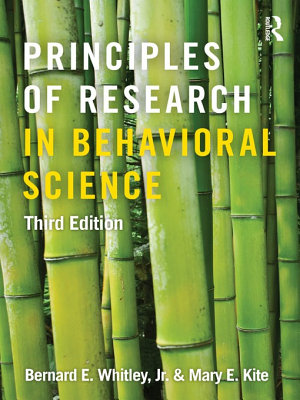 Principles of Research in Behavioral Science PDF