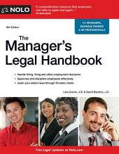 Manager's Legal Handbook,The