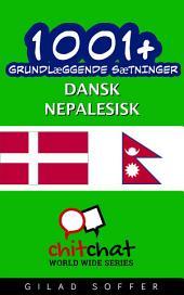 1001+ grundlæggende sætninger dansk - nepalesisk
