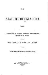 The Statutes of Oklahoma, 1890