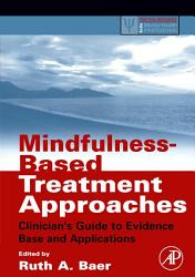 Mindfulness Based Treatment Approaches Book PDF