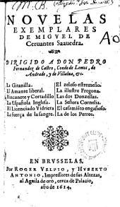 Novelas exemplares. - Madrid, Juan de la Cuesta 1613