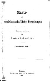 Staats- und sozialwissenschaftliche Forschungen