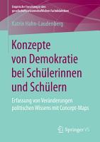 Konzepte von Demokratie bei Sch  lerinnen und Sch  lern PDF