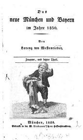 Hundert Sonderbarkeiten, oder das neue München im Jahre 1850: Band 2